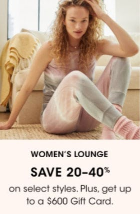 Women's Lounge Save 20-40% from Bloomingdale's