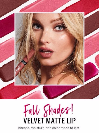 Fall for it: Velvet Matte Lip