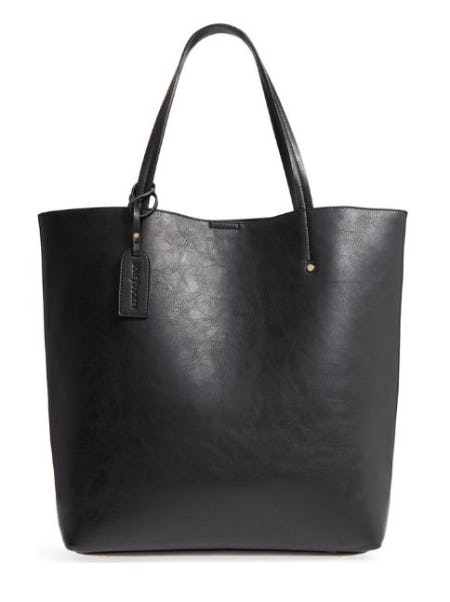 Nuddo Faux Leather Tote