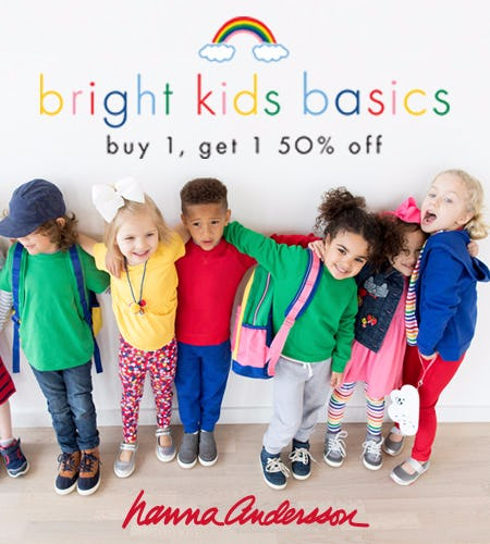 Bright Kids Basics: Buy 1, Get 1 50% off