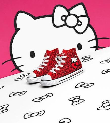 Converse Chuck Taylor All Star Hi Hello Kitty® Bows Sneaker