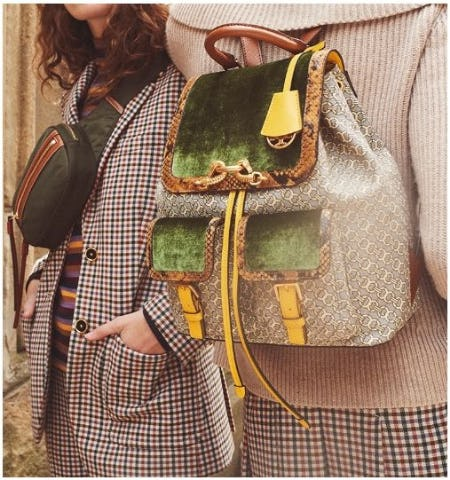 The New School: Backpacks & Belt Bags from Tory Burch