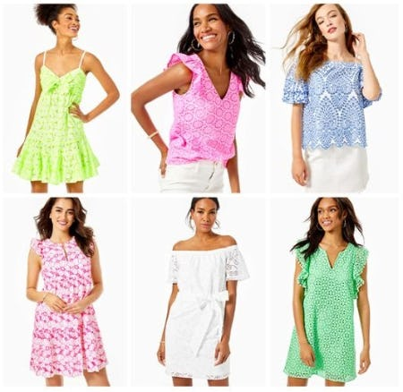 All Eyes on Eyelet​ from Lilly Pulitzer