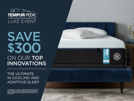 Fall Savings Event from Tempur-Pedic