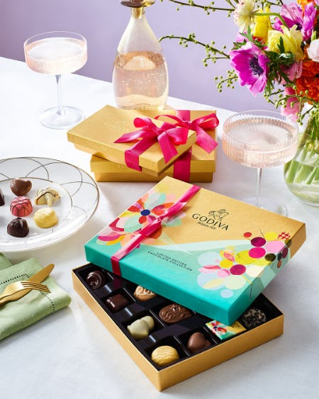 Springtime at GODIVA! from Godiva Chocolatier