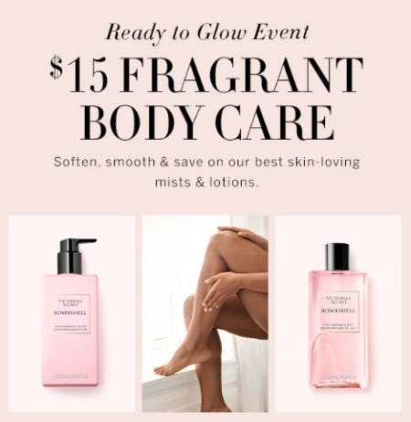$15 Fragrant Body Care from Victoria's Secret