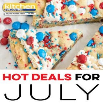July_Kitchen Collection 2018 Promotions and Sales from Kitchen Collection
