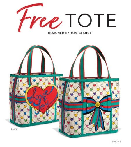 Love & Joy Designer Tote from Brighton