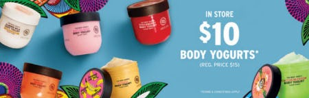 $10 Body Yogurts from The Body Shop