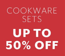 Up to 50% Off Cookware Sets from Sur La Table