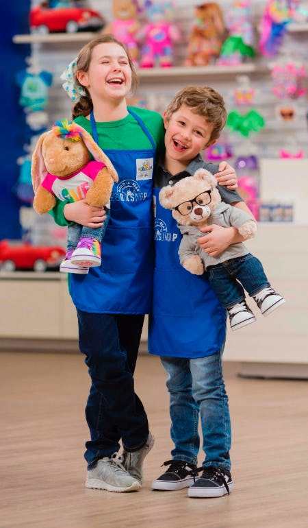 Bear Builder University: Heros from Build-A-Bear Workshop