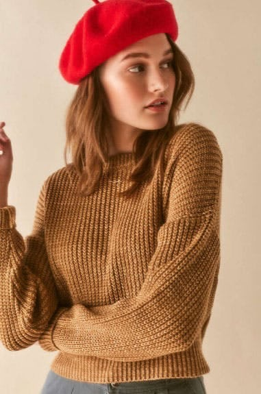 BDG Drop-Sleeve Fisherman Sweater