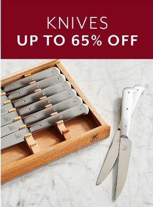 Up to 65% Off Knives from Sur La Table