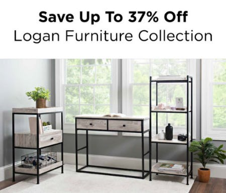 Up to 37% Off Logan Furniture Collection from Kirkland's