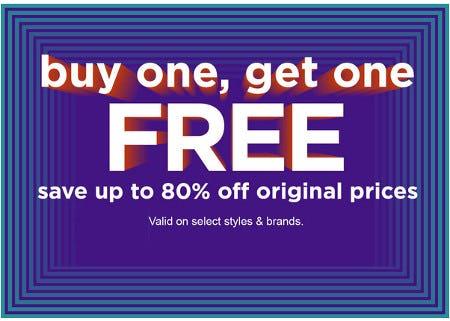 Buy One, Get One Free Sale from Zumiez