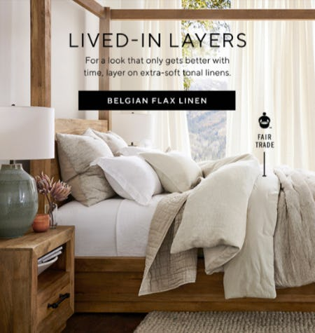 New Fall Bedding is Here from Pottery Barn