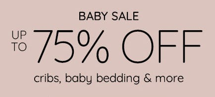 Baby Sale from Pottery Barn Kids