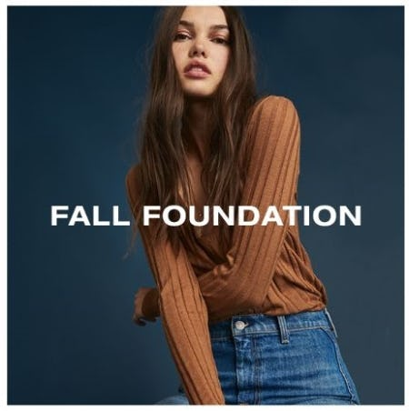 The Perfect Fall Basics from 7 for All Mankind
