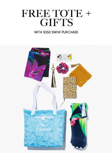 Free Tote + Gifts with $350 Swim Purchase from Neiman Marcus