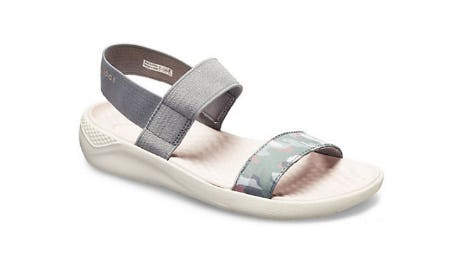Women's LiteRide Graphic Sandal from Crocs