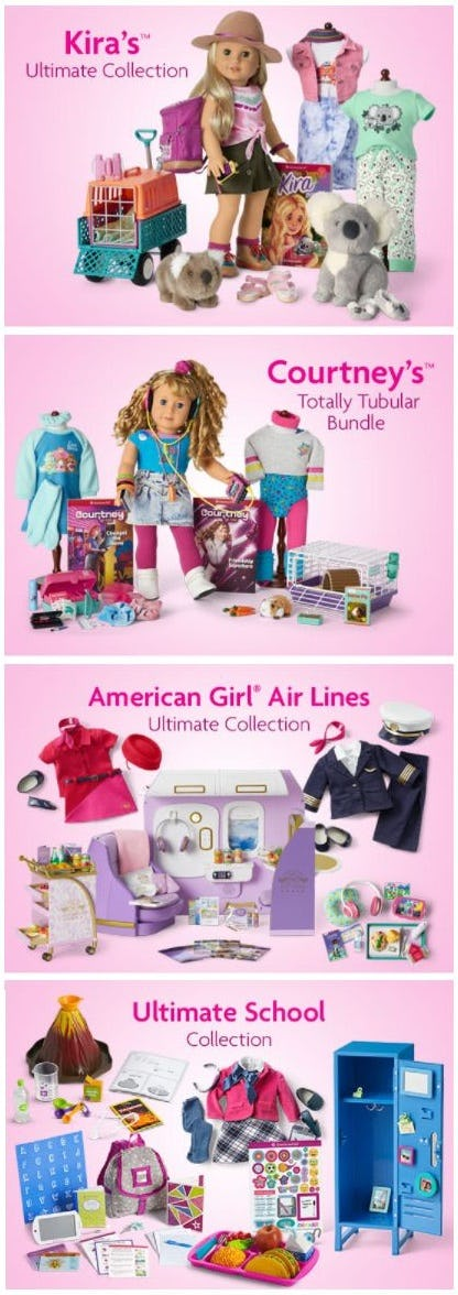 Explore Collections featuring Girls' Favorite Characters and Activities