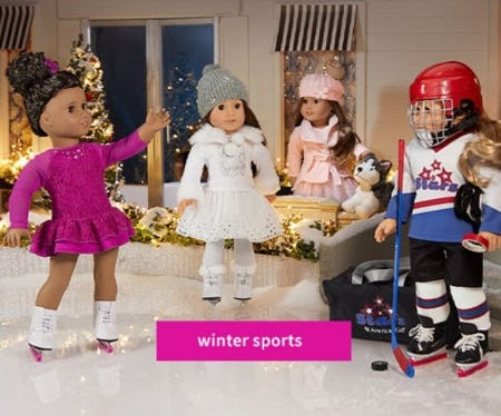 Celebrate Winter Sports from American Girl