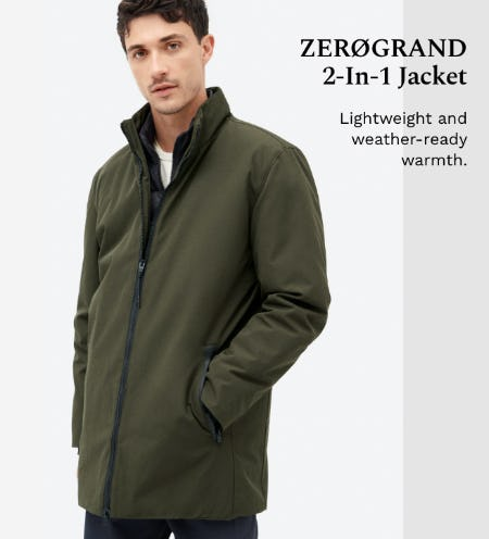 ZERØGRAND 2-In-1 Jacket from Cole Haan