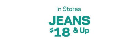 Jeans $18 & Up from Aéropostale