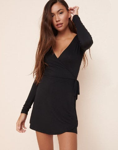 Wrap Front Romper from Garage