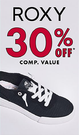 30% Off Comp. Value on Roxy from DSW Shoes