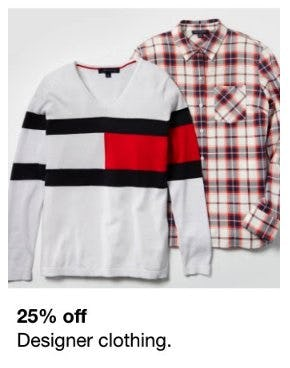 25% Off Designer Clothing