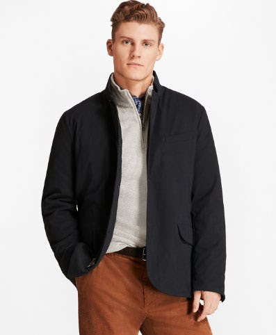 Nylon Hybrid Jacket from Brooks Brothers