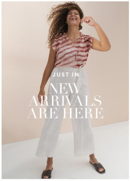 Our Newest Arrivals Are Here from Banana Republic