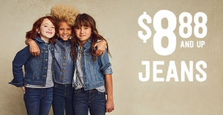 $8.88 & Up Jeans from Crazy 8