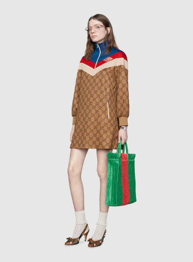 GG Technical Jersey Dress from Gucci