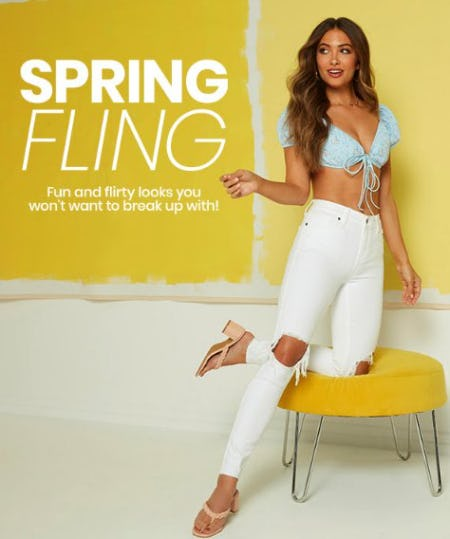 Fun & Flirty Spring Looks from Windsor