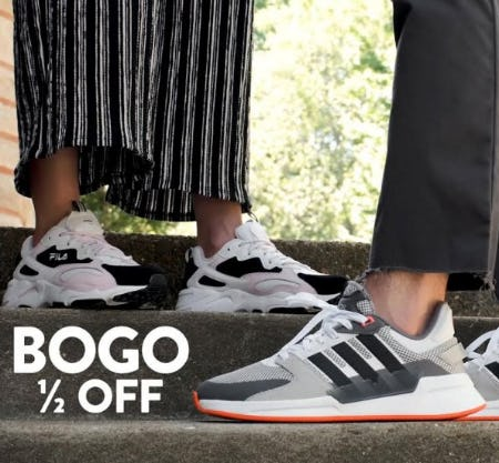 Famous Footwear BOGO ½ Off Event