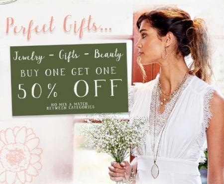 BOGO 50% Off Jewelry, Gifts & Beauty from Altar'd State