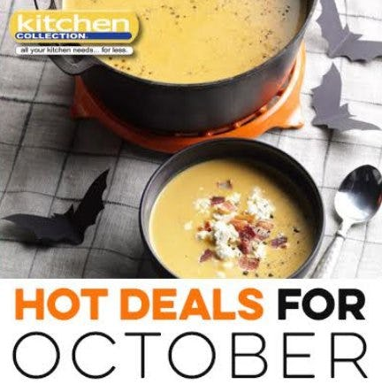 October_Kitchen Collection 2018 Promotions and Sales from Kitchen Collection