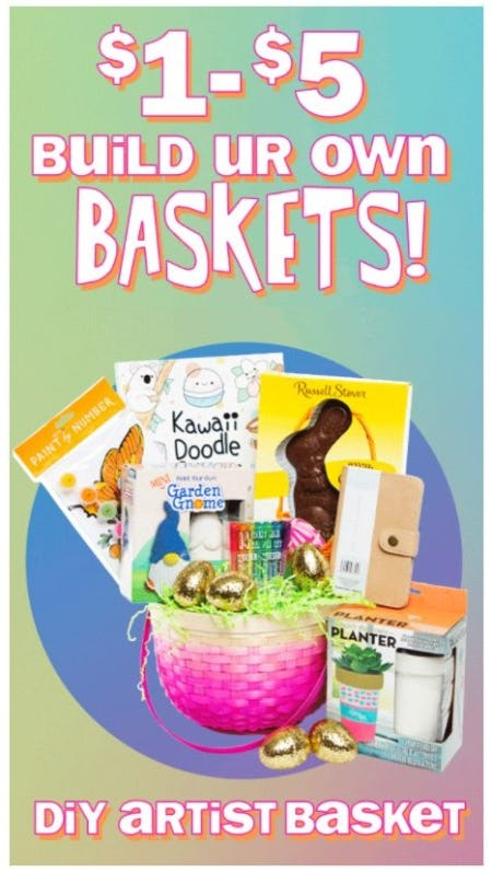 $1–$5 Build Ur Own Baskets from Five Below