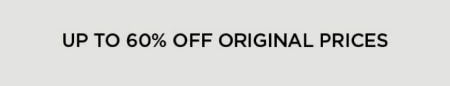 Up to 60% Off Original Prices from Eileen Fisher