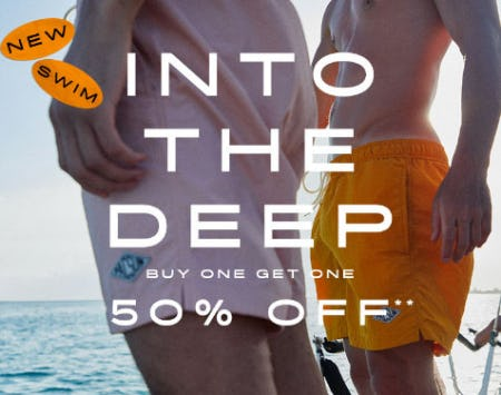 BOGO 50% Off New Swim from PacSun
