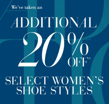 Additional 20% Off Select Women's Shoe from Saks Fifth Avenue
