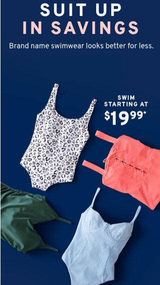 Swim Starting at $19.99