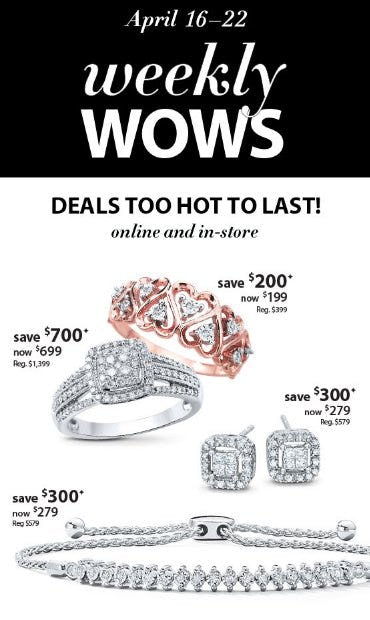 Weekly Wows from Kay Jewelers