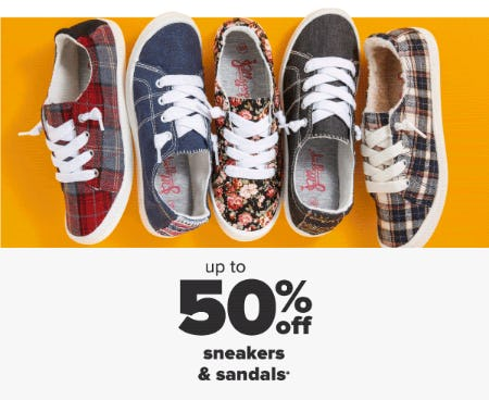 Up to 50% Off Sneakers & Sandals from Belk