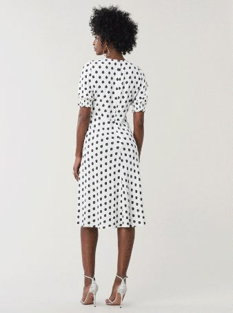 Jemma Cinch Sleeve Midi Dress from Diane von Furstenberg