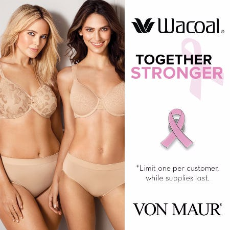 Wacoal Stronger Together Gift With Purchase from Von Maur