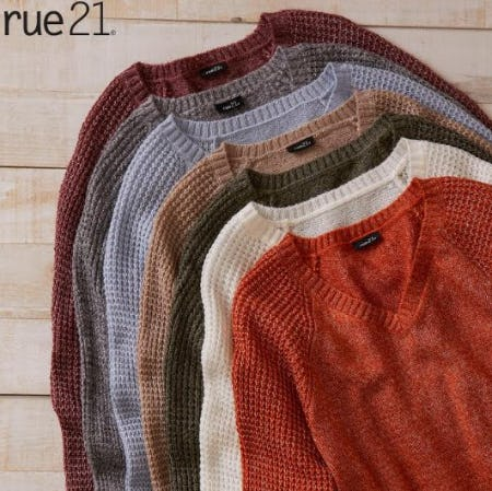 $12 Sweaters from rue21