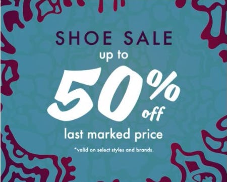 Shoe Sale up to 50% Off